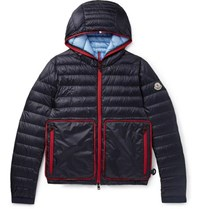 Moncler Archedois Packable Quilted Shell Hooded Down Jacket Navy