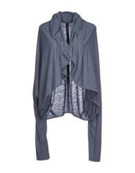 Crossley Cardigans Slate Blue