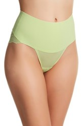Spanx Undie Tectable Lace Shaper Briefs Green