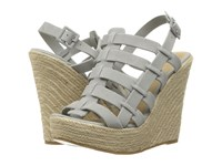 Chinese Laundry Dance Party Grey Blue Women's Wedge Shoes Gray