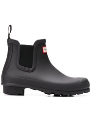 Hunter Ankle Length Wellies Black