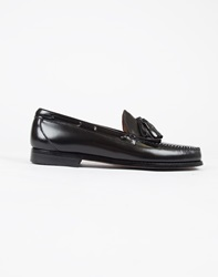 G.H. Bass And Co. Weejuns Tassle Loafers Black