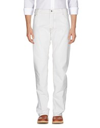 Harmont And Blaine Casual Pants White