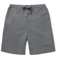 Balenciaga Wool Jersey Shorts Gray