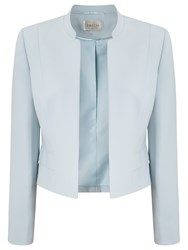 Precis Petite Amelia Cropped Jacket Light Blue