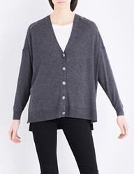 The Kooples Flower Button Knitted Cardigan Gry23