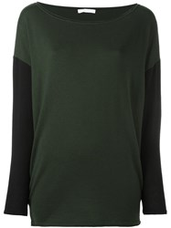 Societe Anonyme 'Funnel' Pullover Sweater Green