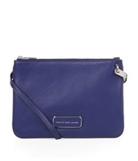 Marc By Marc Jacobs Ligero Double Percy Crossbody Bag Mineral Blue