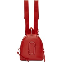 Marc Jacobs Red Dtm Pack Shot Backpack