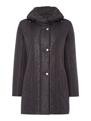 Tigi Shawl Collar Coat Charcoal