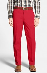 Men's Big And Tall Bobby Jones Stretch Cotton Pants Cambridge Red