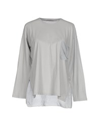Almeria T Shirts Light Grey