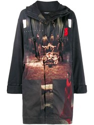 Undercover Printed Shell Jacket Black
