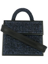 0711 Large Copacabana Purse Blue