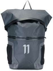 11 By Boris Bidjan Saberi 'Mountain X' Backpack Grey