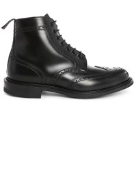 Church's Caldecott G Black Perforated Toe Laced Boots