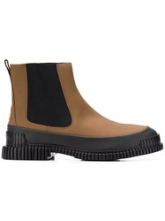 Camper Pix Ankle Boots Brown