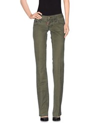 Dsquared2 Trousers Casual Trousers Women Military Green