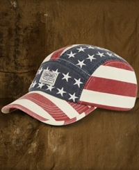 Denim And Supply Ralph Lauren Canvas American Flag Hat American Flag