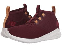 New Balance Cypher Burgundy Veg Tan Leather Running Shoes