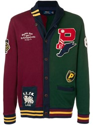 Polo Ralph Lauren Hybrid Baseball Jacket Red