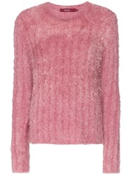 Sies Marjan Margo Long Sleeved Jumper Pink