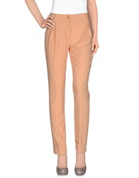 Class Roberto Cavalli Trousers Casual Trousers Women Salmon Pink