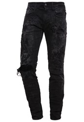 Replay Anbass Slim Fit Jeans 009 Destroyed Denim