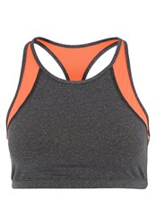 Roxy Kubia Sports Bra Granatina Orange