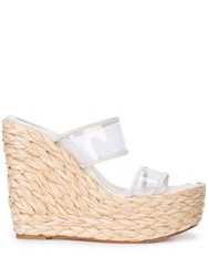Ritch Erani Nyfc Tulum Wedge Sandals White