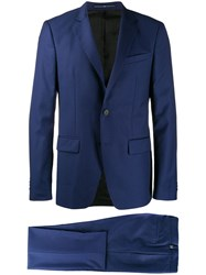 Givenchy Striped Two Piece Suit Blue