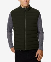 32 Degrees Men's Dynamic Stretch Vest Blkmel