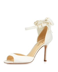 Izzie Bow Back Satin D'orsay Pump Ivory Kate Spade New York