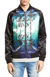 The Rail Men's Reversible Print Bomber Jacket