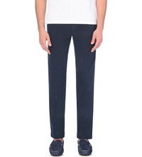Ralph Lauren Newport Slim Fit Cotton Trousers Aviator Navy