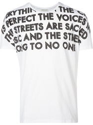 Each X Other Printed T Shirt White