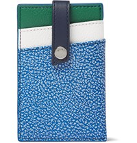 Want Les Essentiels Kennedy Leather Cardholder Blue