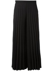 Blugirl Pleated Cropped Trousers Black