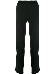 Corneliani Straight Leg Trousers Black