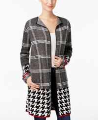Ny Collection Petite Open Front Cardigan Sawyer