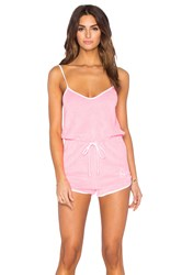 Wildfox Couture Pool Party Romper Pink