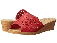 Spring Step Estella Red Women's Wedge Shoes