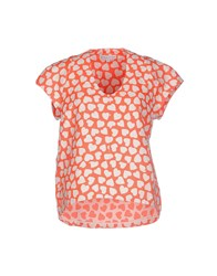 Paul And Joe Sister Shirts Blouses Women Coral