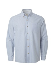 White Stuff Stripe Classic Fit Long Sleeve Shirt Blue