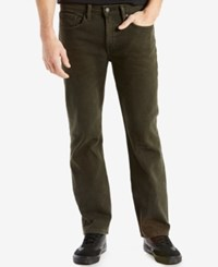 Levi's Men's 514 Straight Leg Jeans Green