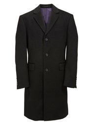 Paul Costelloe Potter Single Breasted Coat Black