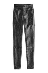 The Kooples Faux Leather Pants Black