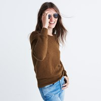 Madewell Milestone Pullover Sweater Warm Ash