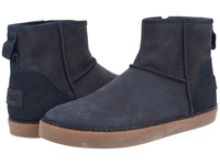 Ugg Magellan Navy Leather Men's Pull On Boots Blue