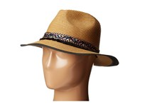 Steve Madden Panma Hat With Friendship Braid Band Tan Traditional Hats